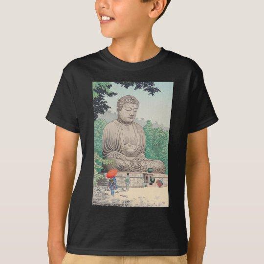 The Great Buddha at Kamakura FUJISHIMA TAKEJI T-Shirt