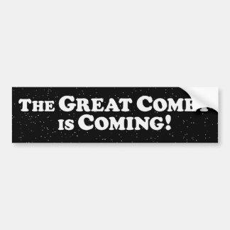 The Great Comet is Coming  - Dark Bumper Sticker
