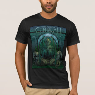 The Great Cthulhu (art nouveau) T-Shirt