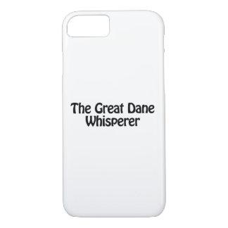 the great dane whisperer iPhone 8/7 case