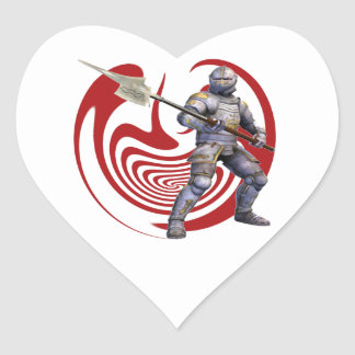 THE GREAT DEFENDER HEART STICKERS