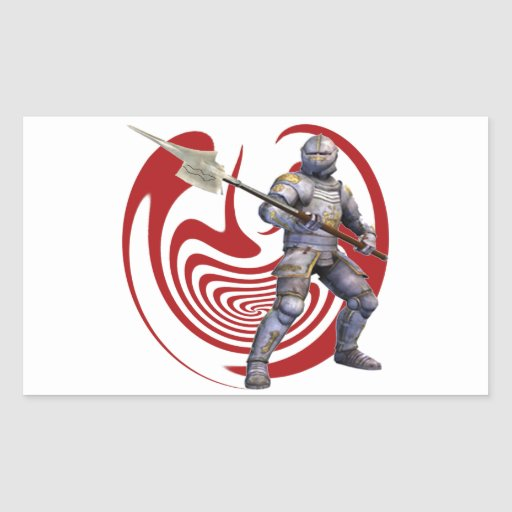 THE GREAT DEFENDER RECTANGLE STICKER