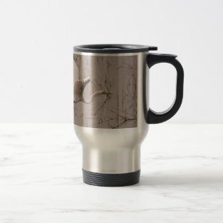The Great Egret Travel Mug