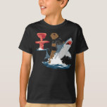 The Great Escape - bear shark cavalry T-Shirt