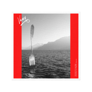 The Great Fork of Vevey Canvas Print