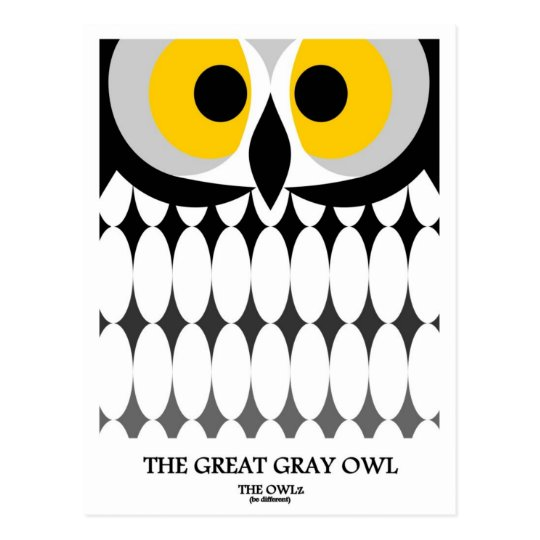 The Great Grey Owl Postcard