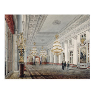 The Great Hall, Winter Palace, St. Petersburg Postcard
