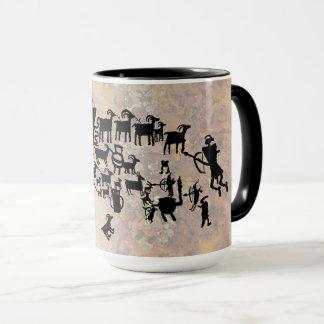 The Great Hunt Petroglyph Panel Mug