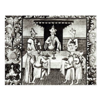 The Great Khan's feast Postcard