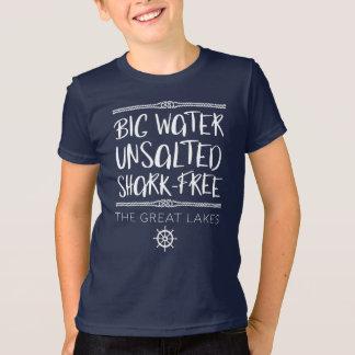The Great Lake: Big, Unsalted, Shark-free T-Shirt