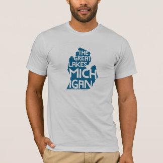 The Great Lakes Michigan T-Shirt