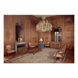 The Great Lounge with woodwork Poster