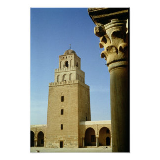 The Great Mosque, Aghlabid, 836-875 AD Poster