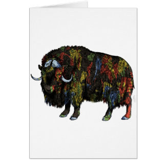 THE GREAT MUSKOX CARD