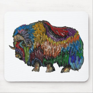 THE GREAT MUSKOX MOUSE PAD