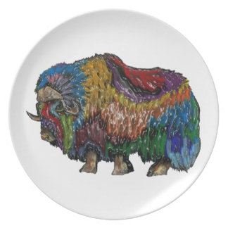 THE GREAT MUSKOX PARTY PLATE
