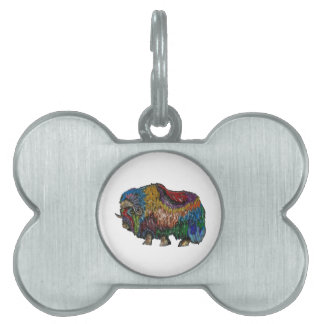 THE GREAT MUSKOX PET ID TAG