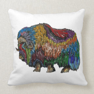 THE GREAT MUSKOX THROW PILLOW