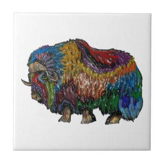 THE GREAT MUSKOX TILE