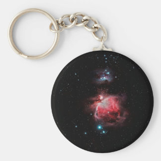 The Great Nebula in Orion Basic Round Button Keychain
