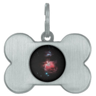 The Great Nebula in Orion Pet ID Tag