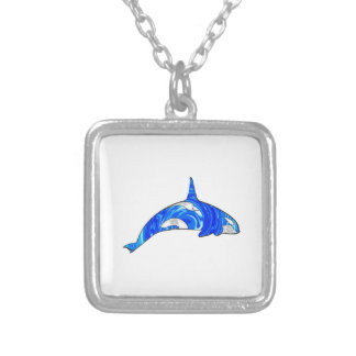 THE GREAT ONE SILVER PLATED NECKLACE