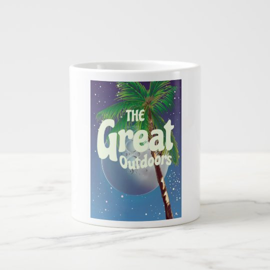 The Great Outdoors Palm and Moon Large Coffee Mug