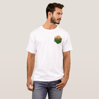 The Great Outdoors Photo Rustic Badge T-Shirt