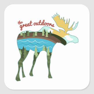 The Great Outdoors Stickers