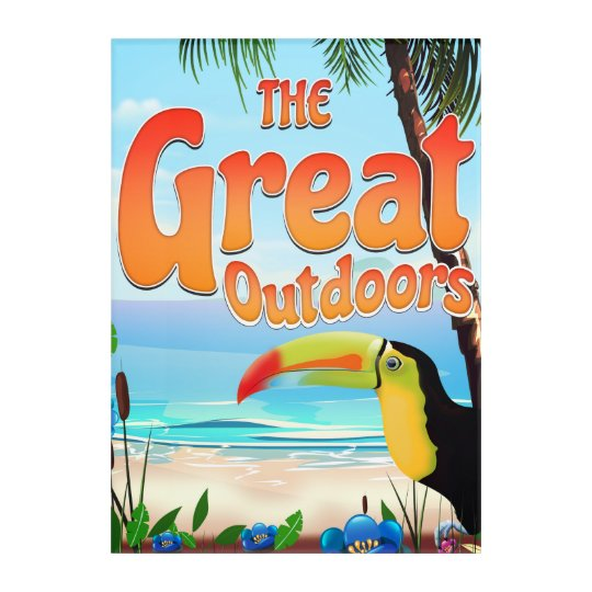 The Great Outdoors Toucan Acrylic Wall Art