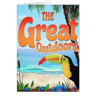 The Great Outdoors Toucan Card