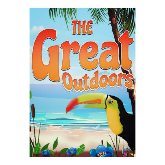 The Great Outdoors Toucan Poster