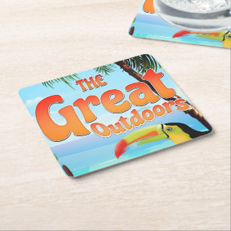The Great Outdoors Toucan Square Paper Coaster