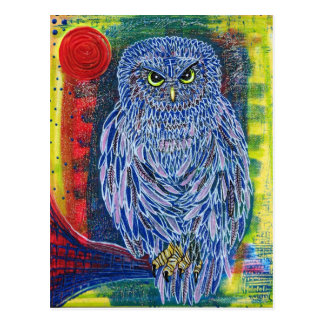 The Great Owl Postcard