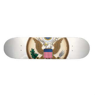 The Great Presidential Seal of the USA Custom Skateboard