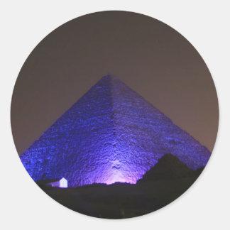 The Great Pyramid Classic Round Sticker