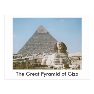 The Great Pyramid of Giza Postcard
