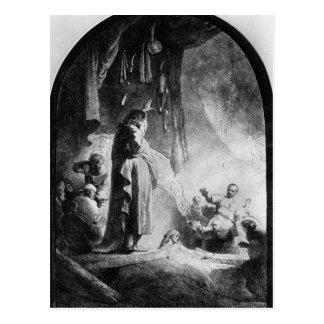 The Great Raising of Lazarus Postcard
