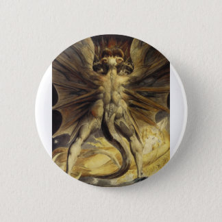 The Great Red Dragon and the Woman Clothed in Sun 2 Inch Round Button