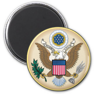 The Great Seal 2 Inch Round Magnet