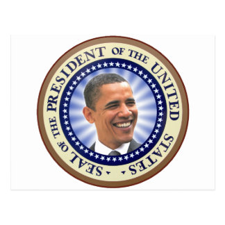 The Great Seal of Obama Greetings Card Postcard
