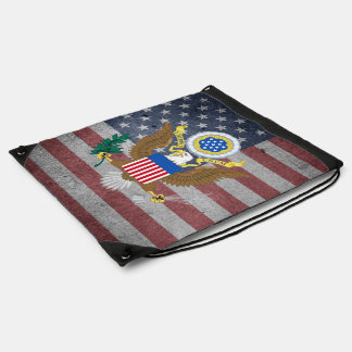 The Great Seal of the United States Drawstring Bag