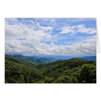 The Great Smoky Mountains Blank Greeting Cards