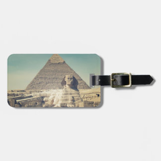 The Great Sphinx of Giza Luggage Tag