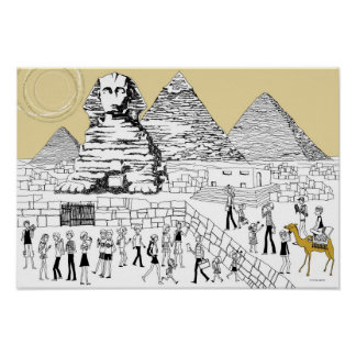 The Great Sphinx Poster