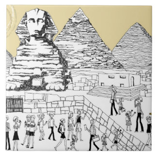 The Great Sphinx Tile