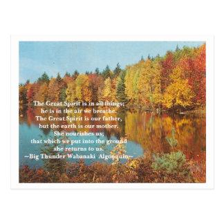 The Great Spirit Postcard