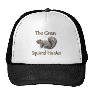 The Great Squirrel Hunter gray Trucker Hat