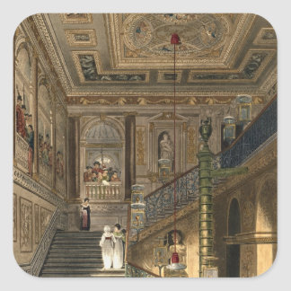 The Great Staircase at Kensington Palace From Pyne Square Sticker