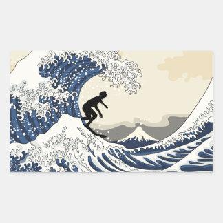 The Great Surfer of Kanagawa